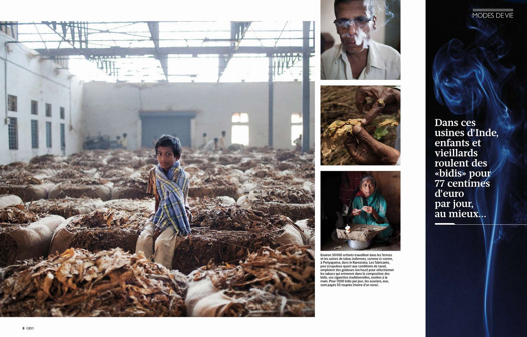 Tobacco In Asia Terraproject Photographers Tearsheets